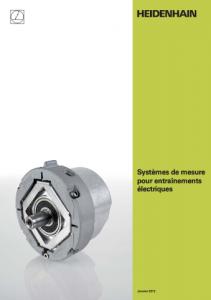Capteurs rotatif heidenhain M.A.M. MAM entrainement electrique
