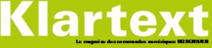 Klartext : le magazine commandes numériques HEIDENHAIN